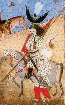 Süleymanname-Sultan Suleiman the Magnificent during the campaign on Nachivan in the South Caucasus, 1554