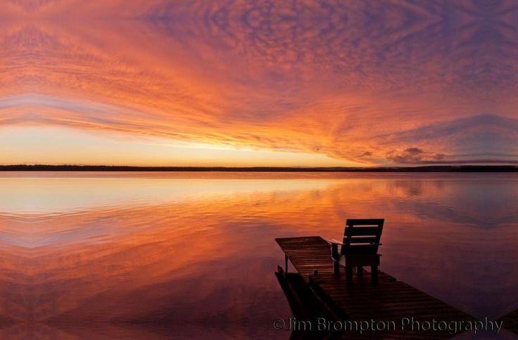 Greig Lake Saskatchewan by Jim Brompton