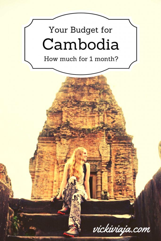 Cambodia on a budget I Budget Guide Cambodia I Saving money I Expenditures I Travel Budget I Southeastasia I #Budgettravel #Cambodia #Budget