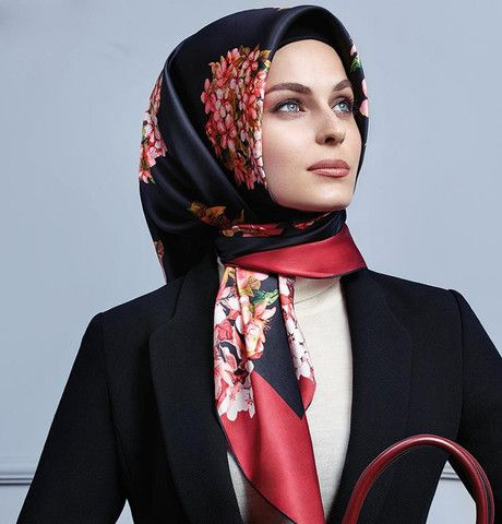 Armine Silk Hijab Scarf Fall 2015 - Winter 2016 # 7253 – Modefa USA