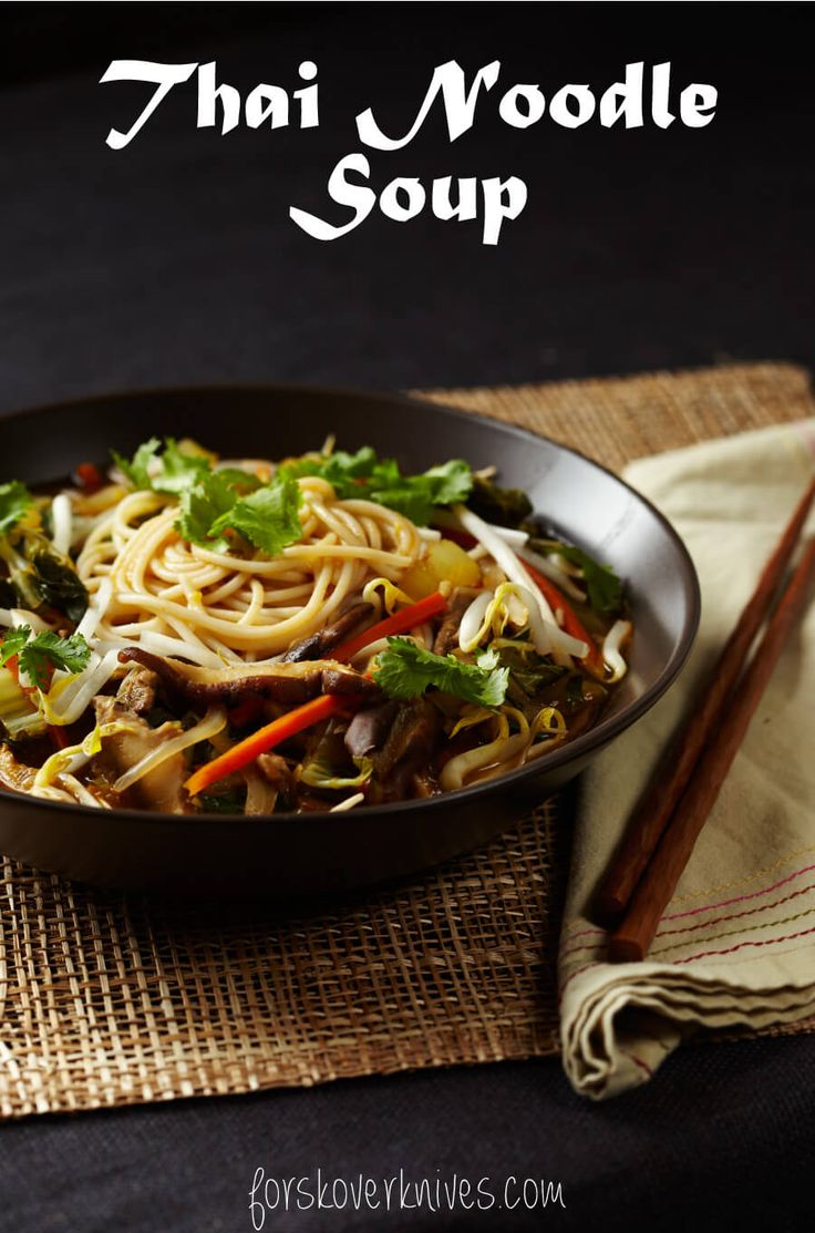 This delicious Thai noodle soup is a great one-pot meal that makes serving dinner a snap.