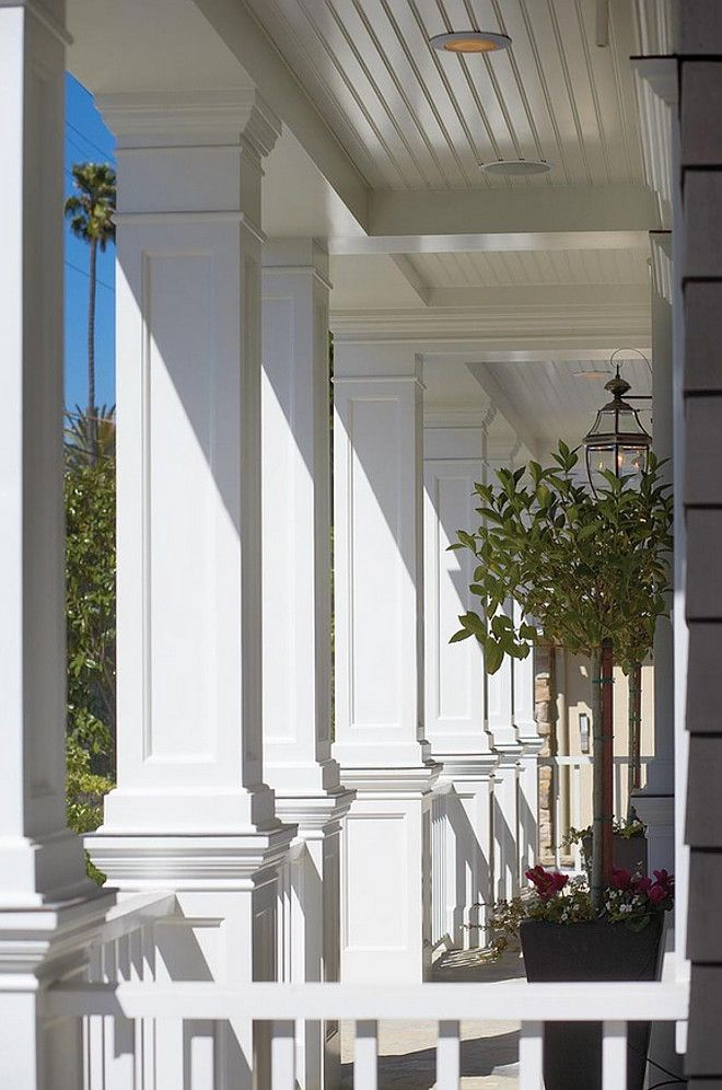 Square Column Trim : Best ideas about porch columns on pinterest front