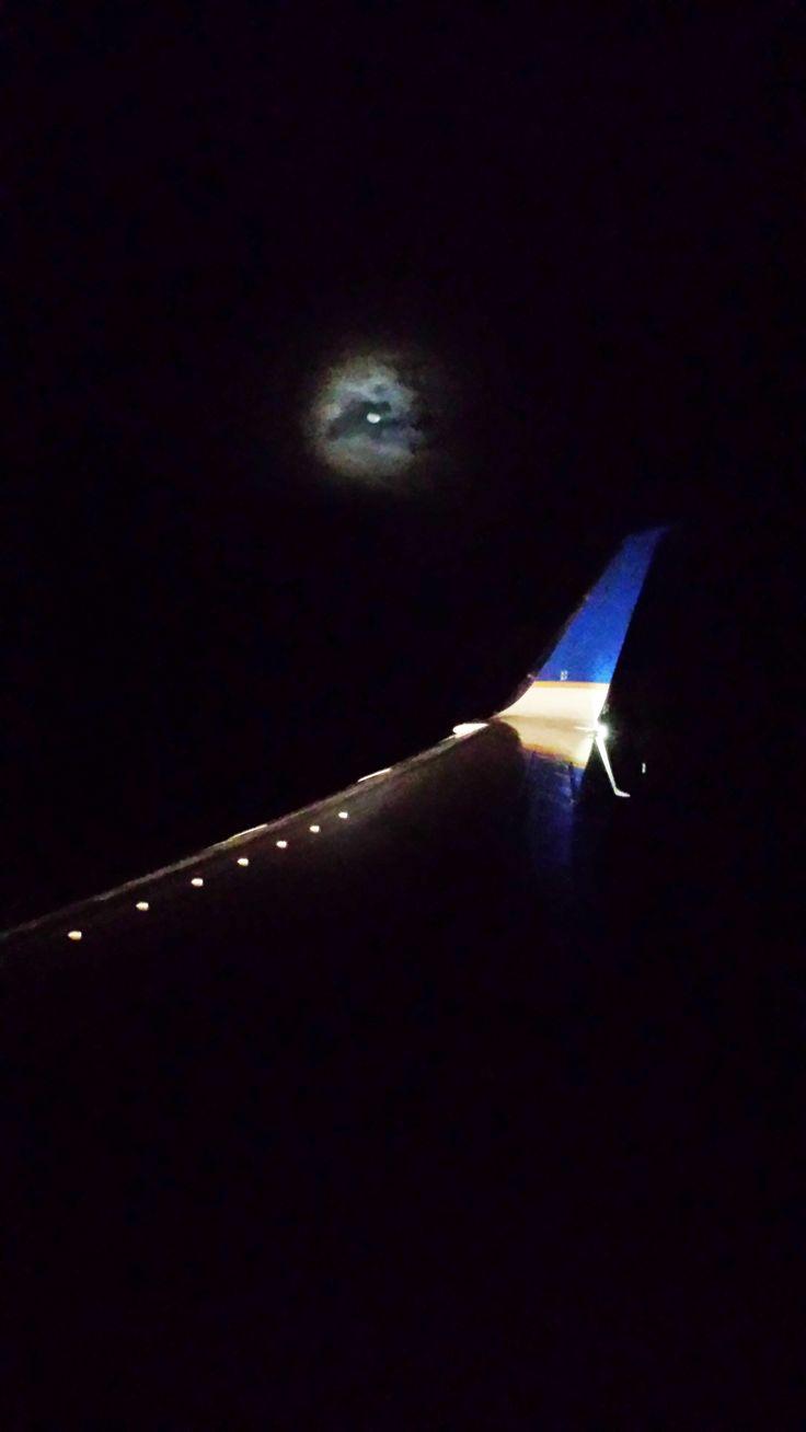 United Airlines 달밤 #미국여행 #라스베가스