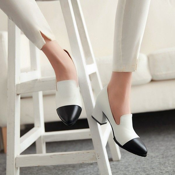 Aliexpress.com : Buy Big size:34 43,2015 new spring autumn fashion casual pointed toe mixed colors women pumps high quality women shoes from Reliable shoe set suppliers on Glamor Trend | Alibaba Group