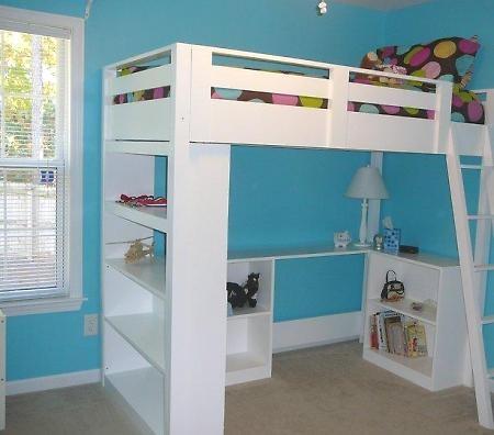 Ana White DIY Loft Bed