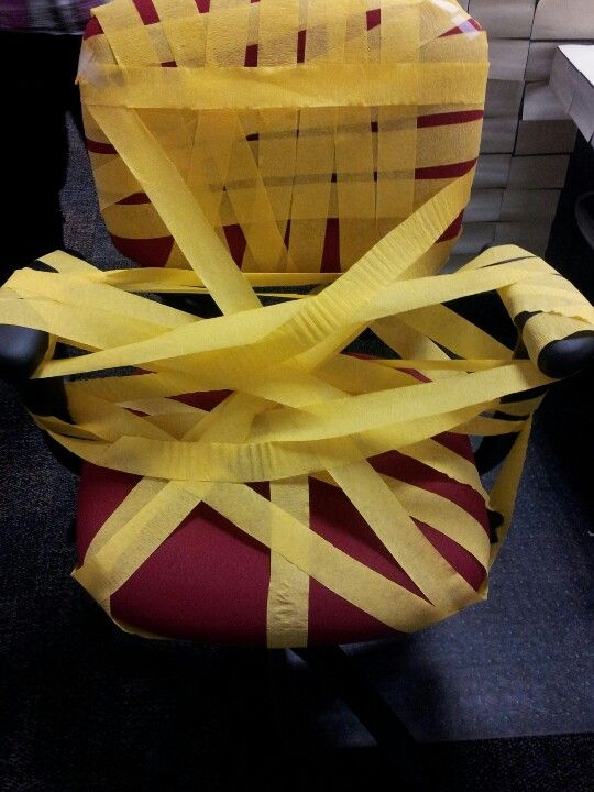 Office birthday prank