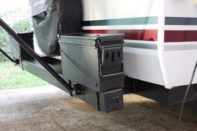 Rv Fiberglass Outside Kitchen Door Holders