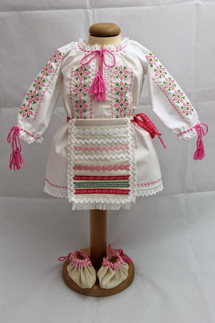Trusou Botez Personalizat, Trusouri Botez, Hainute Botez, Lumanari Botez : Costumas botez traditonal fetite #botez