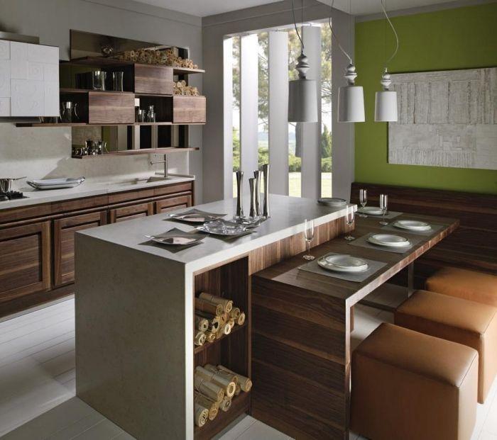 Moderne Massivholz-Esszimmermöbel – Die Natur spüren #ideen ...