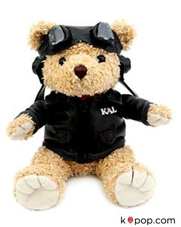 K2POP - TEADY BEAR KOREAN AIR PILOT DOLL