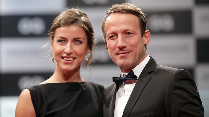Ausgezeichnet: Wotan Wilke Möhring mit neuer Freundin.