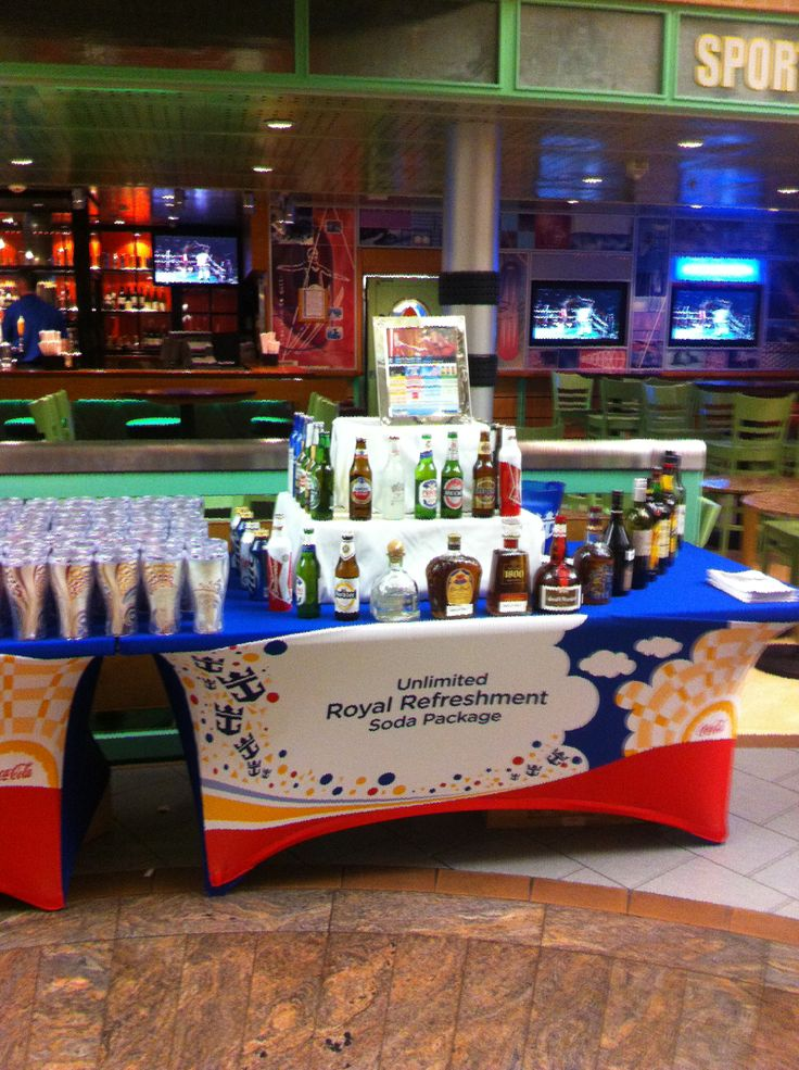 Royal Caribbean International - Adventure of the Seas, Royal Refreshments