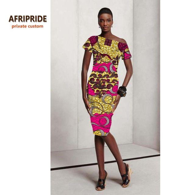 17 vestido de festa sexy para as mulheres de estilo africano roupas bazin Africano riche moda bonito ocasional impressão de cera de algodão plus size