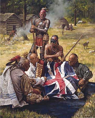 indians of the american revolution history