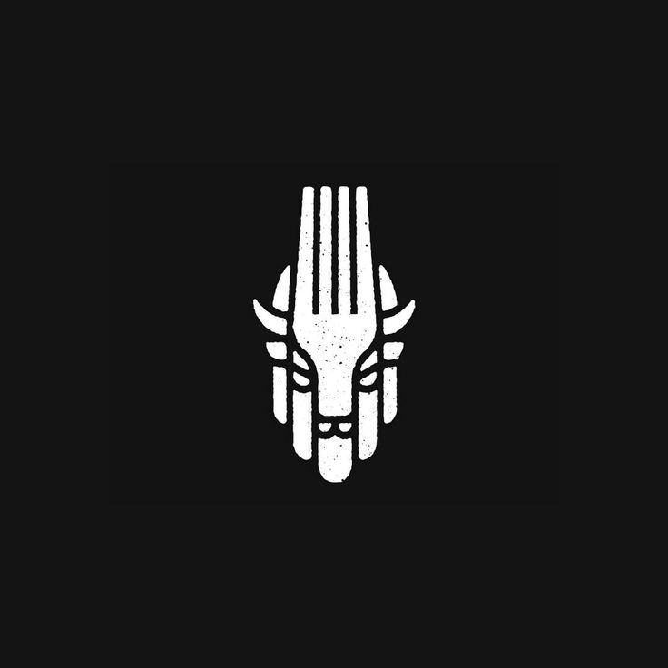 Buffalo:Fork by Rob Hopkins @buffalomadeco - LEARN LOGO DESIGN @learnlogodesign @learnlogodesign - Want to be featured next? Follow us and tag #logoinspirations in your post