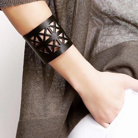 You only need one piece to make a statement! Kaleidoscope bracelet by Ioanna Kourbela! #stylebubbles #ioannakourbela #accessories #bracelets #fashion #onlineshopping