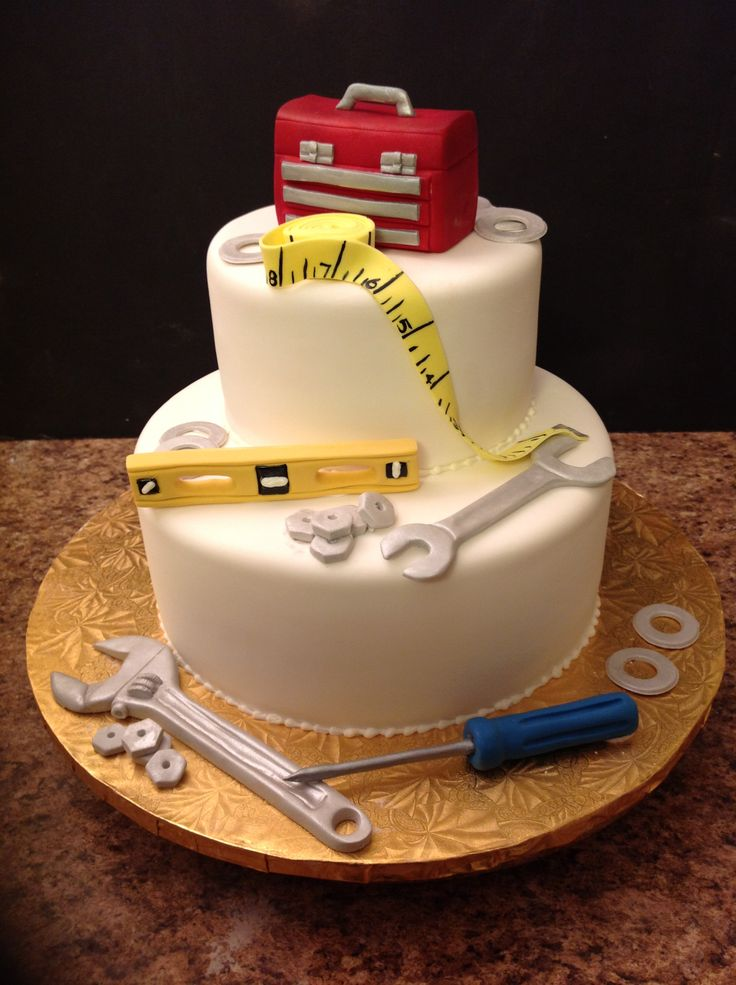 car guy wedding cake topper retirement cake ideas for a mechanic pictures to pin on 12388