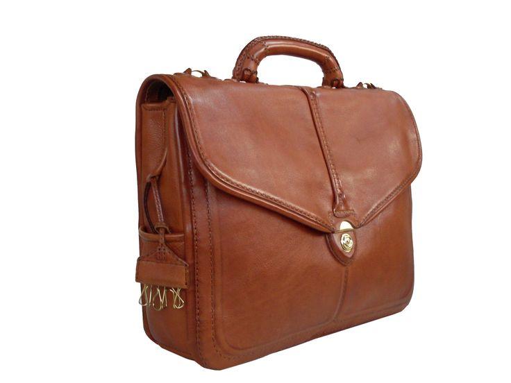 Gön Deri 20106 OMER Leather Handmade Bag
