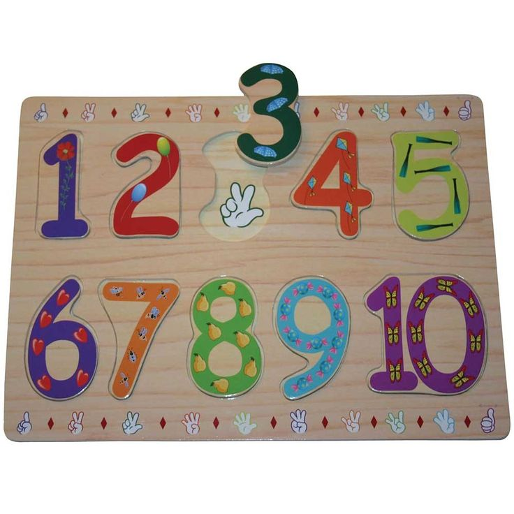 ASL Sign Language Woden Numbers Puzzles, Games and Toys Hearing Loss, Deaf, Sign Language Products - Alarm Clocks for Deaf, Products for Hard of Hearing #llamharris