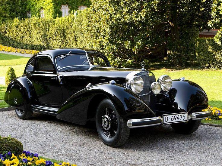1938 Mercedes-Benz 540 K 'Highway Courier'