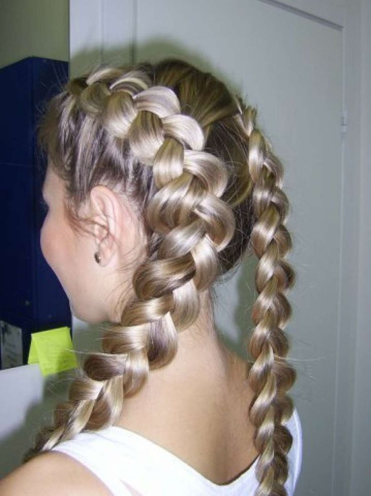 Inverted French braid hairstyle  :: one1lady.com :: #hair #hairs #hairstyle…