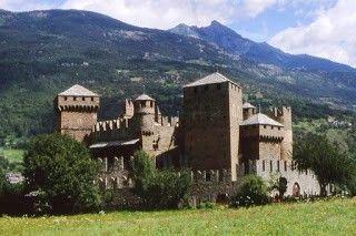 Viaggi con ricordi: I castelli della Valle d'Aosta