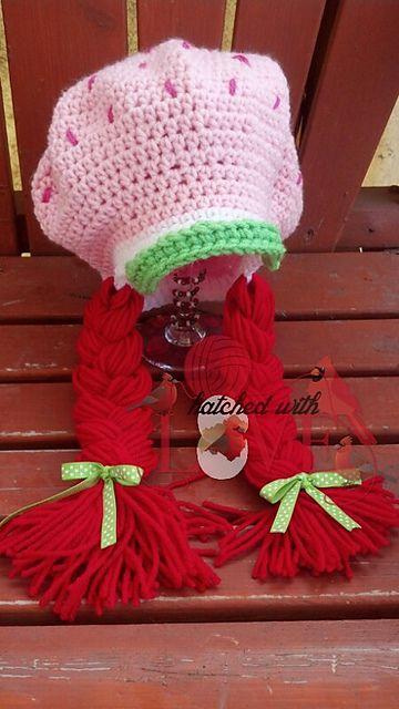 Strawberry Cheesecake Free Crochet Pattern