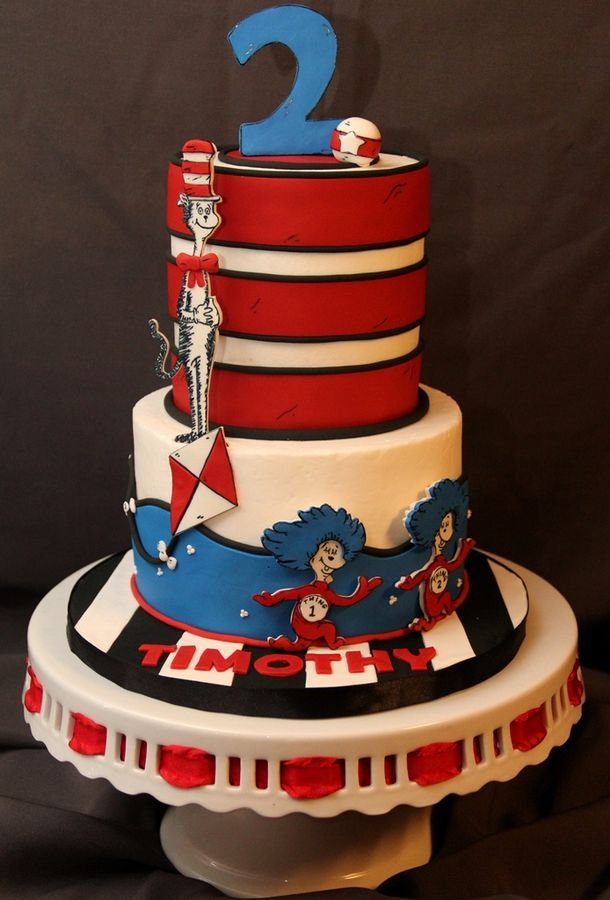 35 best Cat in The Hat Cake images on Pinterest Conch fritters