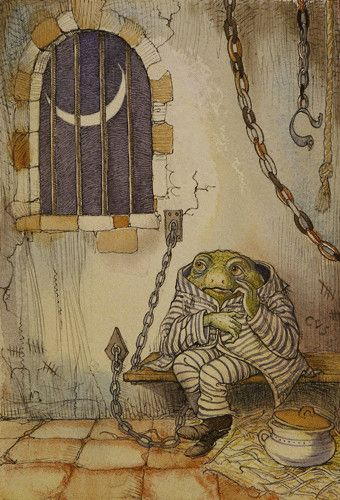 Arthur Rackham | Kenneth Grahame | The Wind in the Willows
