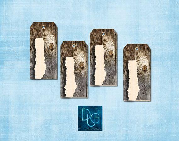 Hang Tags RUSTIC 1 design