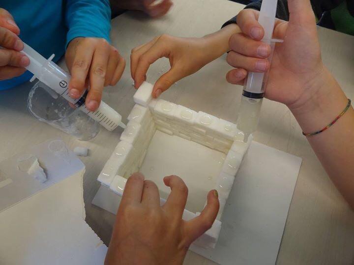 Een kasteel bouwen met suikerklontjes #topondernemers #techniek