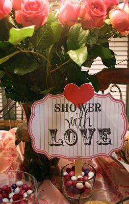 valentines baby shower