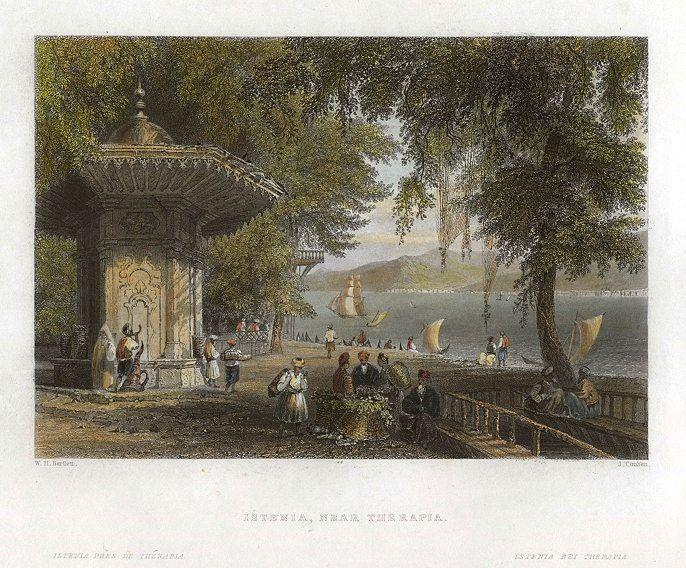 Turkey, Istanbul, Istenia, near Therapia, 1838