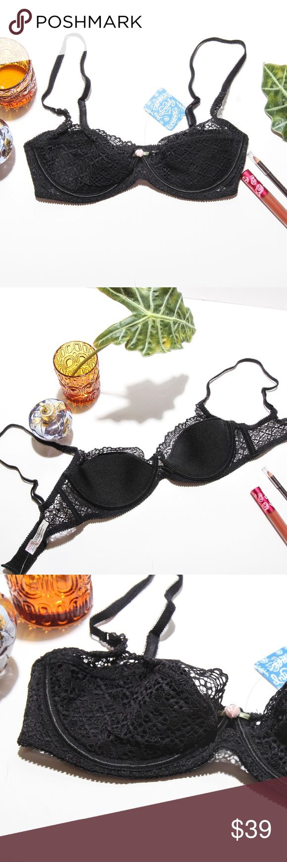 FREE PEOPLE DEMI BRA Awesome Demi Cup! The most flattering bra ever! Free People Intimates & Sleepwear Bras