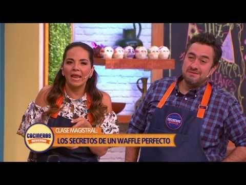 Receta: Masa para Crepas, hot cakes y waffles | Cocineros Mexicanos - YouTube