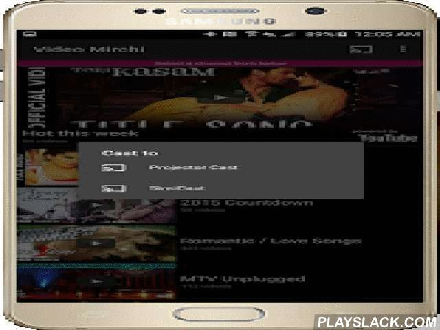 Top Hindi Songs + Music Videos  Android App - playslack.com ,  *** One click access to the hottest bollywood music videos ***Video Mirchi is the hottest video channel for Indian music videos. It continuously plays the latest chart topping hindi music videos from Bollywood. You can also play hits from last year & classics too.We look at the top charts from all across India and create the ultimate non-stop channel with those songs, powered by YouTube. Current channel contains songs from…