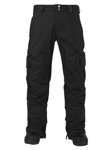 Burton Cargo Pant Mid Fit True Black 2016
