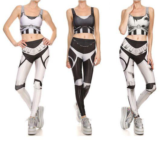 Stormtrooper inspired leggings