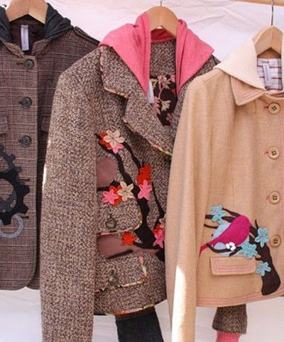 """bella sisters: portland.... luv my """"bird on it"""" coat check them out! http://www.bellasisters.com/"""