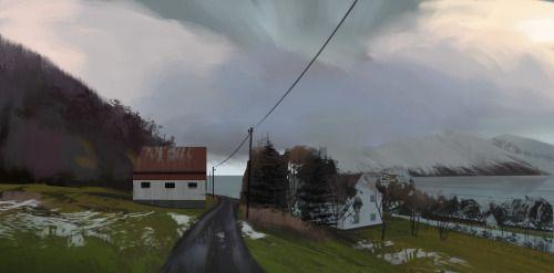 Virtual plein air: http://www.mapcrunch.com/p/69.857673_19.659784_147.86_-6.41_0