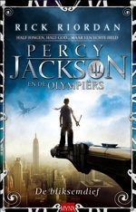 Dutch cover of Percy Jackson and the Olympians, Book 1: The ...