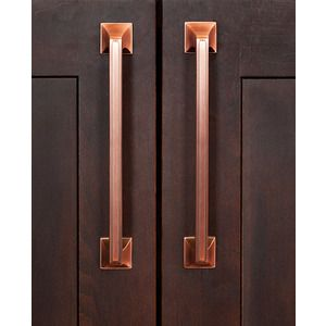 amerock decorative cabinet and bath hardware cabinet handle brushed copper amerock