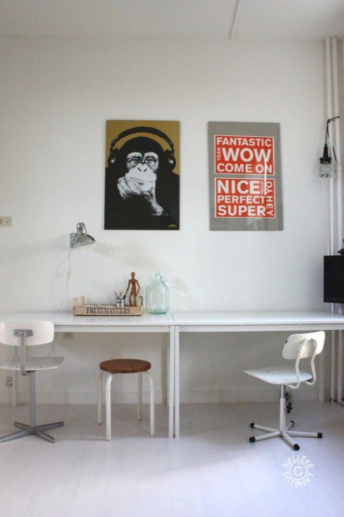 Ruben in zijn studentenkamer in Groningen - Inspiratie voor je interieur