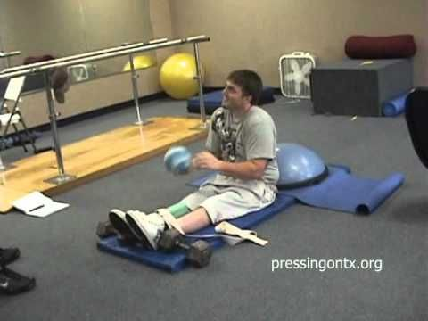 Mike H. T-12 Complete Spinal Cord Injury. Good exercise ideas for SCI patients.Andrea Romero
