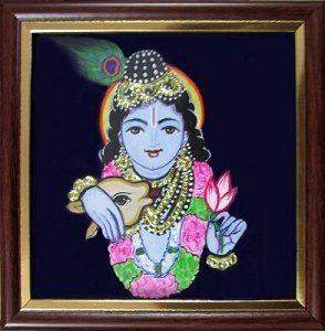 """Krishna - 5x 6"""" -  sumarts.biz/"""