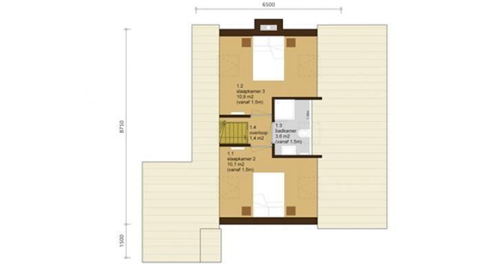 Oesterdam 6 - Watervilla voor zes personen — Waterrijk Oesterdam