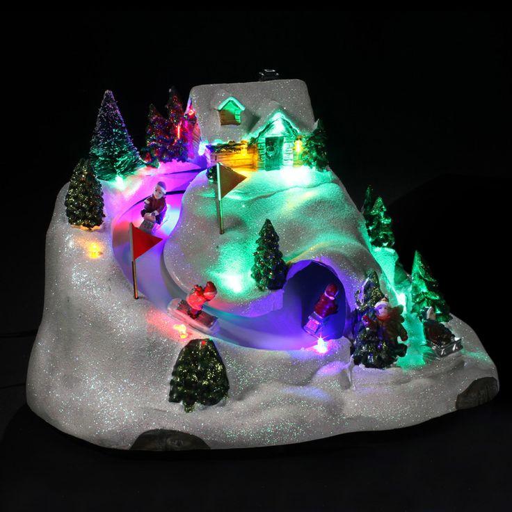 Village de Noël lumineux Descente de Luge : choisissez parmi tous nos produits Village de Noël lumineux