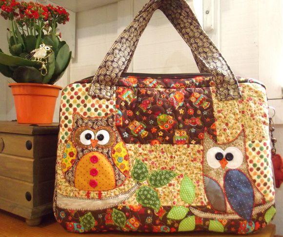 VIDA Statement Bag - QuiltFox Tote by VIDA 0RL0jIF