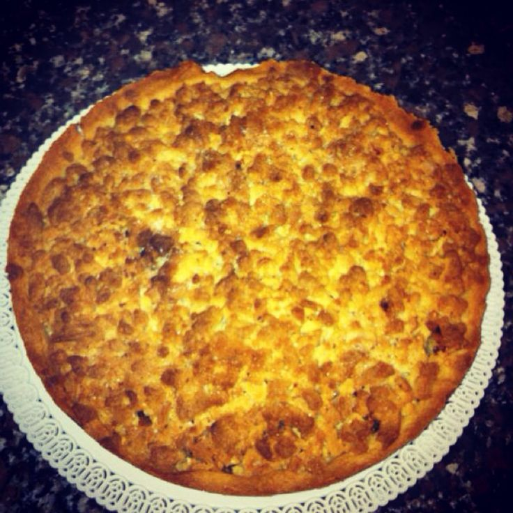 @Cookerfeed Streusel aux pommes (Alsace) #dolcichepassione#tortadimele#souvenirs