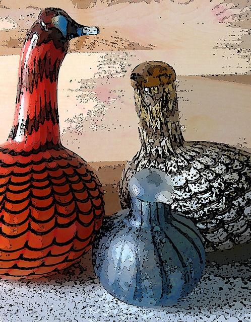 Toikka glassbirds by bridges_nichols_collection, via Flickr